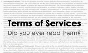 terms of service - do you ever read them?