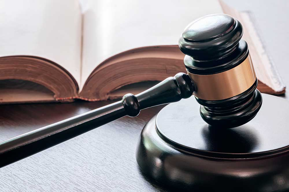 Gavel with Estate Planning law Book